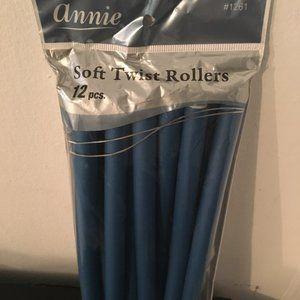 Annie 10'' Flexible Twist-flex Hair Roller Rods